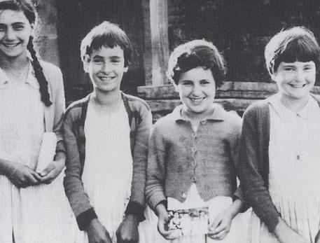Las cuatro niñas.